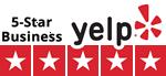 5 Star Business on Yelp